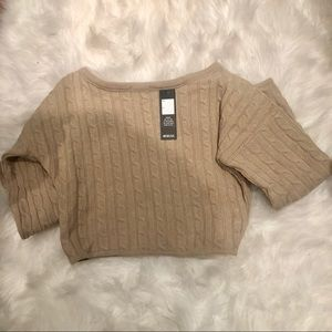 rebellious fashion Sweaters - Beige Cable Knit Loungewear Set - Anha 817c64256